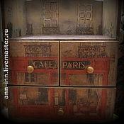 """Для дома и интерьера ручной работы. Ярмарка Мастеров - ручная работа Комод """"Кусочек Парижа"""". Handmade."""