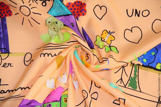 Шитье ручной работы. Ярмарка Мастеров - ручная работа. Купить Шелк Dolce&Gabbana 2015-16. Handmade. Шелк, итальянские ткани
