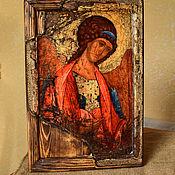 Картины и панно handmade. Livemaster - original item The icon of Archangel Michael from the Zvenigorod Deesis tier. Handmade.