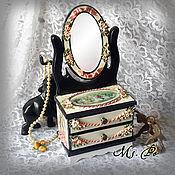 handmade. Livemaster - original item Mini dresser with mirror