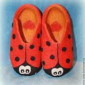 Обувь ручной работы. Ярмарка Мастеров - ручная работа Божья коровка. Handmade.