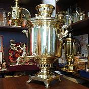 Для дома и интерьера ручной работы. Ярмарка Мастеров - ручная работа Самовар В.С. Баташева - столетний раритет для чаепития. Handmade.