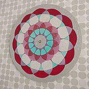 Для дома и интерьера ручной работы. Ярмарка Мастеров - ручная работа Часы Мандала. Handmade.