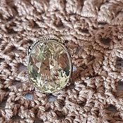 Кольца ручной работы. Ярмарка Мастеров - ручная работа Кольцо с цитрином. Handmade.