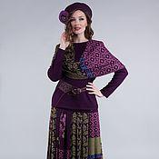 Одежда ручной работы. Ярмарка Мастеров - ручная работа Жаккардовый женский костюм. Handmade.