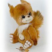 Куклы и игрушки ручной работы. Ярмарка Мастеров - ручная работа белочка Nancy. Handmade.