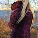 Верхняя одежда ручной работы. Куртка-жакет валяная Виолетта. Марина Власенко. Ярмарка Мастеров. Шерстяной жакет