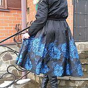 """Одежда ручной работы. Ярмарка Мастеров - ручная работа Юбка  """"Синие розы"""". Handmade."""
