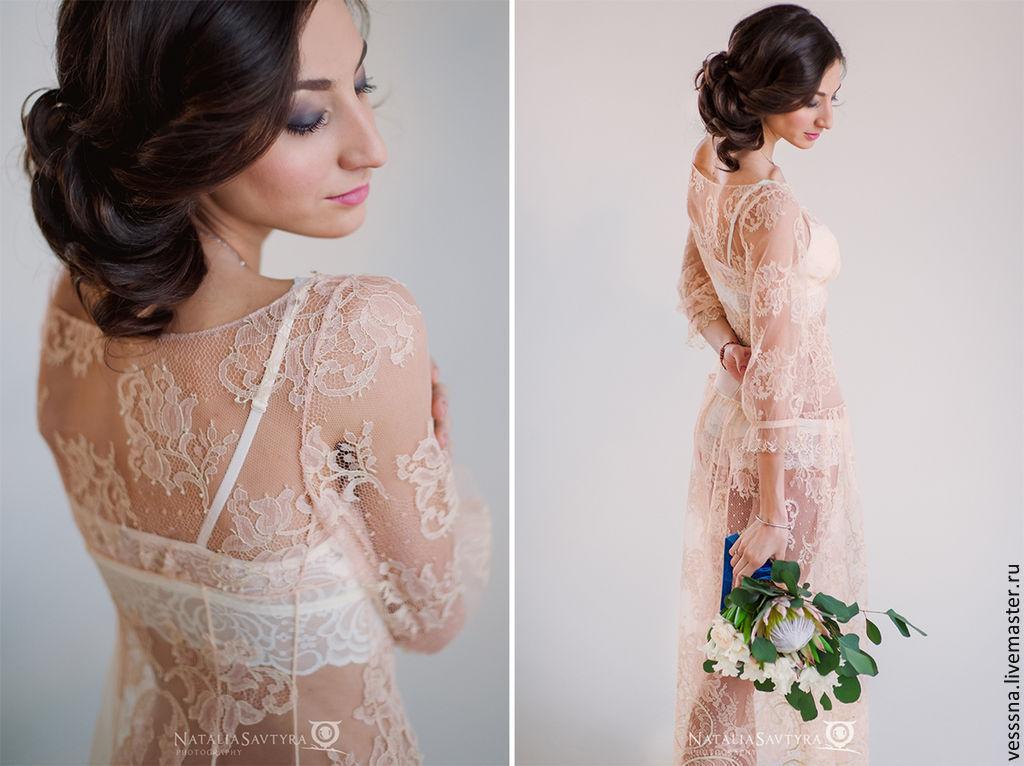 Будуарное платье невесты своими руками мастер класс 56
