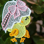 Подарки к праздникам handmade. Livemaster - original item 10 Easter Chicks.. Handmade.