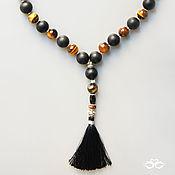Фен-шуй и эзотерика handmade. Livemaster - original item their rosary tiger`s eye, shungite and tourmaline. Handmade.