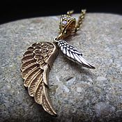 Украшения handmade. Livemaster - original item Choker Two wings 925 sterling silver. Handmade.