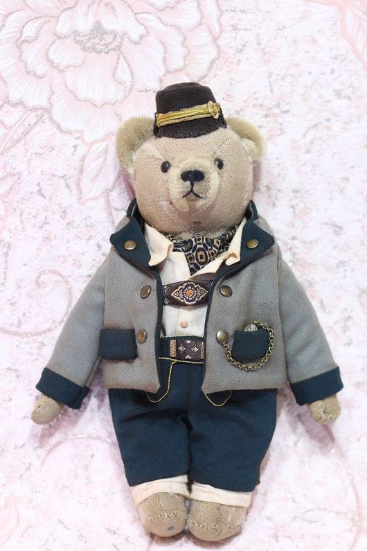 Мишки Тедди ручной работы. Ярмарка Мастеров - ручная работа. Купить Мишка Тедди Немецкий господин 26 см. Handmade.