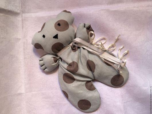 Игрушки животные, ручной работы. Ярмарка Мастеров - ручная работа. Купить Грелка мишка. Handmade. Комбинированный, грелка, шитье, мулине