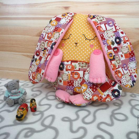 Ароматизированные куклы ручной работы. Ярмарка Мастеров - ручная работа. Купить Подушка игрушка-сплюшка Зайчик ароматизированная. Handmade.