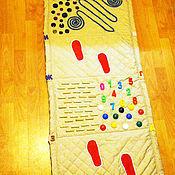 Куклы и игрушки ручной работы. Ярмарка Мастеров - ручная работа Массажная ортопедическая дорожка. Handmade.