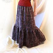Одежда handmade. Livemaster - original item Skirt winter warm