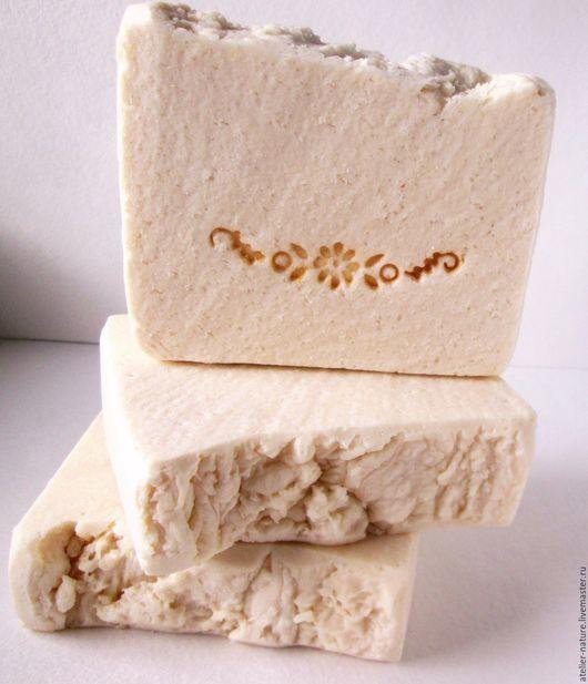 Мыло «Соль и молоко» натуральное, соляное, на молочной сыворотке