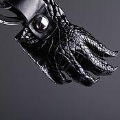 Сумки и аксессуары handmade. Livemaster - original item Keychain foot crocodile IMA0070B1. Handmade.