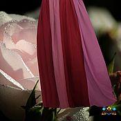 """Одежда ручной работы. Ярмарка Мастеров - ручная работа юбка шифоновая """"Роза"""". Handmade."""
