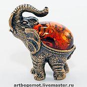 Фен-шуй и эзотерика handmade. Livemaster - original item figurine Seven Elephants. Handmade.