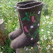Обувь ручной работы. Ярмарка Мастеров - ручная работа Валенки  Вьюн. Handmade.