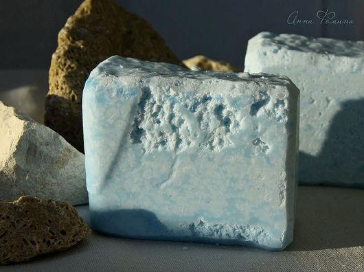 Соляное, мужское, ароматное, мыло с нуля. Натуральное соляное мыло.