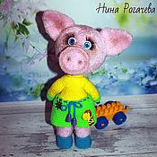 Куклы и игрушки handmade. Livemaster - original item Pig Proshka. Handmade.