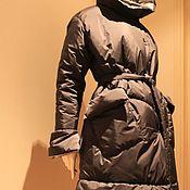 Пуховики ручной работы. Ярмарка Мастеров - ручная работа Пуховик женский с капюшоном. Handmade.
