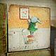 """Развивающие игрушки ручной работы. Ярмарка Мастеров - ручная работа. Купить Кубики """"Воспоминания о детстве"""". Handmade. Разноцветный, мишки"""