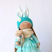 Куклы и игрушки ручной работы. Ярмарка Мастеров - ручная работа Бирюзовая Зайка. Handmade.