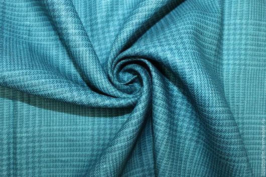 Шитье ручной работы. Ярмарка Мастеров - ручная работа. Купить L1080, Лен KITON. Handmade. Голубой, лен для одежды