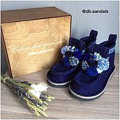 Обувь ручной работы handmade. Livemaster - original item Boots designer decor