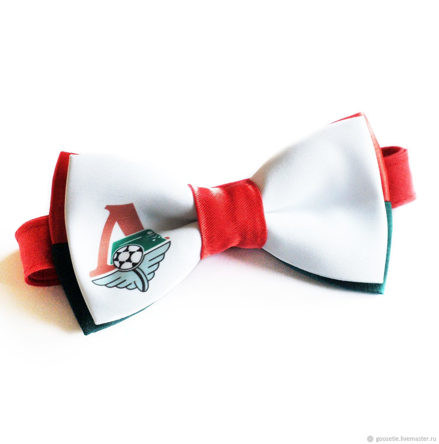 Bow tie with the logo of a sports team, a Gift for a fan, Ties, Sochi,  Фото №1