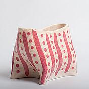 Посуда ручной работы. Ярмарка Мастеров - ручная работа Керамическая салфетница. Handmade.