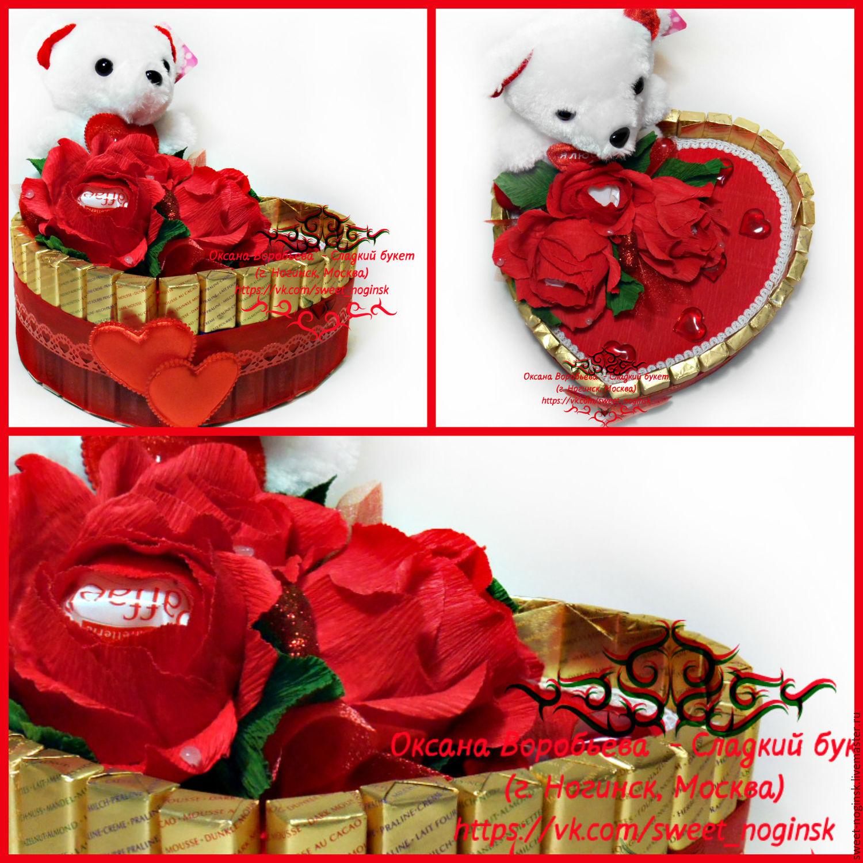 Сладкие валентинки из конфет - Пасхальный венок своими руками: идеи для