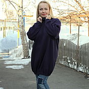 "Dresses handmade. Livemaster - original item Knit sweater dress in a ""Meeting of autumn - 4"". Handmade."