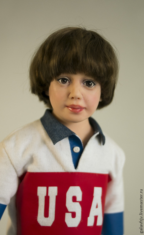 Портретные куклы ручной работы. Ярмарка Мастеров - ручная работа. Купить любимый сынуля. Handmade. Фуксия, портрет, фимо