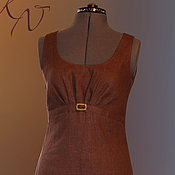 "Одежда handmade. Livemaster - original item Платье ""Шоколад"". Handmade."
