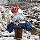 Добрая Баба-Яга. Мягкие игрушки. Елена Сивоплясова  'Старый чемодан'. Ярмарка Мастеров.  Фото №5