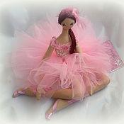 Куклы и игрушки handmade. Livemaster - original item interior doll: Ballerina Pink Cloud (Pink Cloud Ballerina). Handmade.