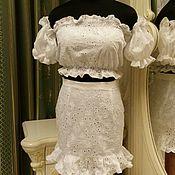 Одежда handmade. Livemaster - original item Cotton dress. Handmade.