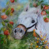 """Картины и панно ручной работы. Ярмарка Мастеров - ручная работа """"Яблочный спас"""". Handmade."""