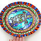 'Mexican breeze ' Set of 2 large plates D 32 cm. Decorative plates. Art by Tanya Shest. My Livemaster. Фото №5