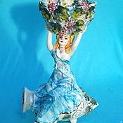 """Для дома и интерьера ручной работы. Ярмарка Мастеров - ручная работа Ваза скульптурная """"Вакханка"""". Handmade."""