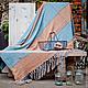 Текстиль, ковры ручной работы. Ярмарка Мастеров - ручная работа. Купить Плед «Romantic». Handmade. Плед, покрывало на кровать