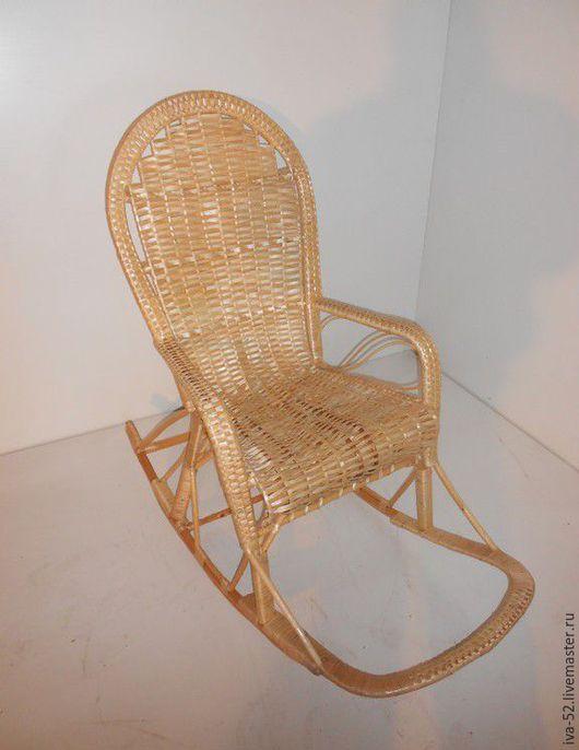 """Мебель ручной работы. Ярмарка Мастеров - ручная работа. Купить Кресло качалка """"Ивушка"""", плетеное из лозы.. Handmade. Кресло качалка"""