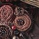 """Броши ручной работы. Брошь """"Спелее вишни"""". София Волкова. Ярмарка Мастеров. Брошь ручной работы, текстильная брошь, ягоды"""