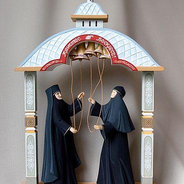 Для дома и интерьера ручной работы. Ярмарка Мастеров - ручная работа Монахини « колокольный звон». Handmade.