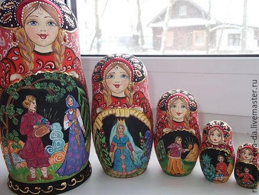 """Подарочные наборы ручной работы. Ярмарка Мастеров - ручная работа. Купить Матрешка """" Каменный цветок """". Handmade."""